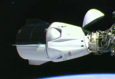Cápsula Crew Dragon de SpaceX llegó con éxito a la Estación Espacial Internacional