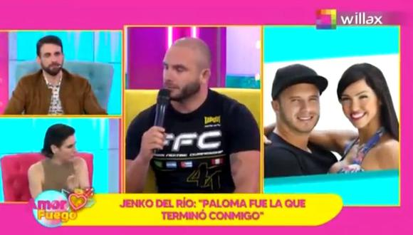 "Jenko del Río sobre su boda con Paloma Fiuza: ""Nos casamos para que tenga sus papeles"""