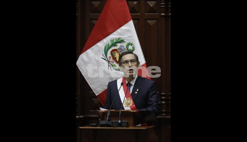Martín Vizcarra sobre economía (Fotos: Anthony Niño de Guzmán)