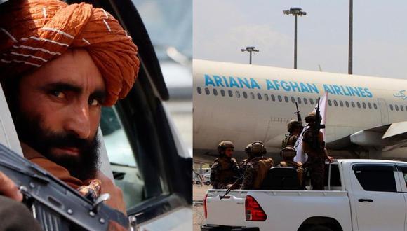 Aviones permanecen retenidos en el aeropuerto de la ciudad de Mazar-i-Sharif en Afganistán. (Agencias)