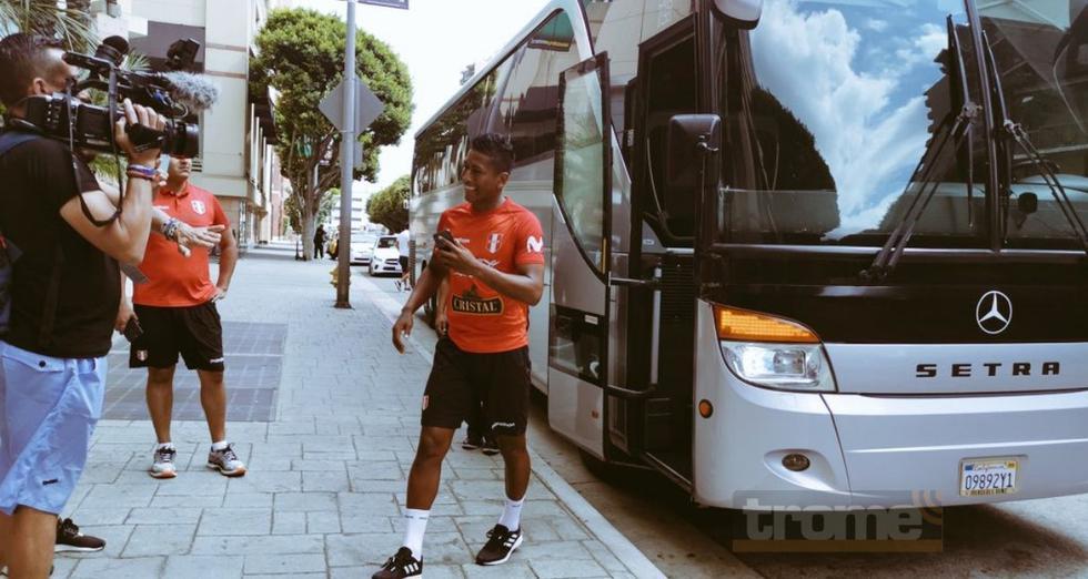 Selección entrenó por la mañana en  campo de LAFC ( FOTOS JOSE 'HUACHANO' LARA )