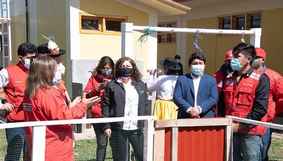 Inauguran Tambo Bicentenario para beneficiar a familias vulnerables de Ayacucho