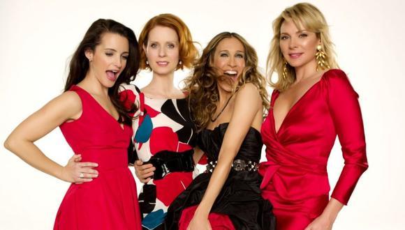 El elenco principal de la popular serie encabezado por Sarah Jessica Parker.