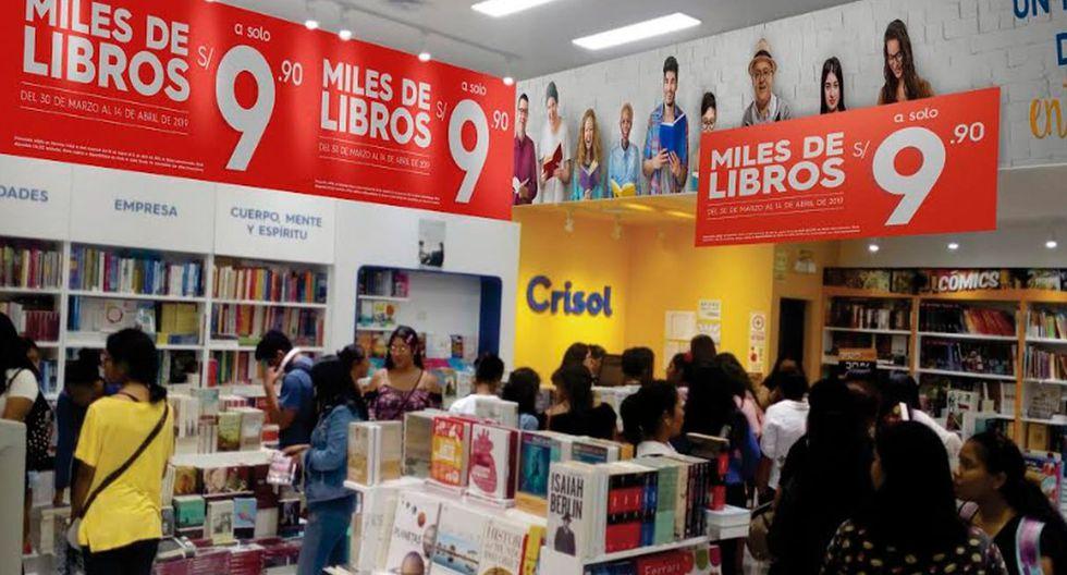 Librería Crisol ofrece libros a S/ 9,90 a nivel nacional. (Foto: Difusión)