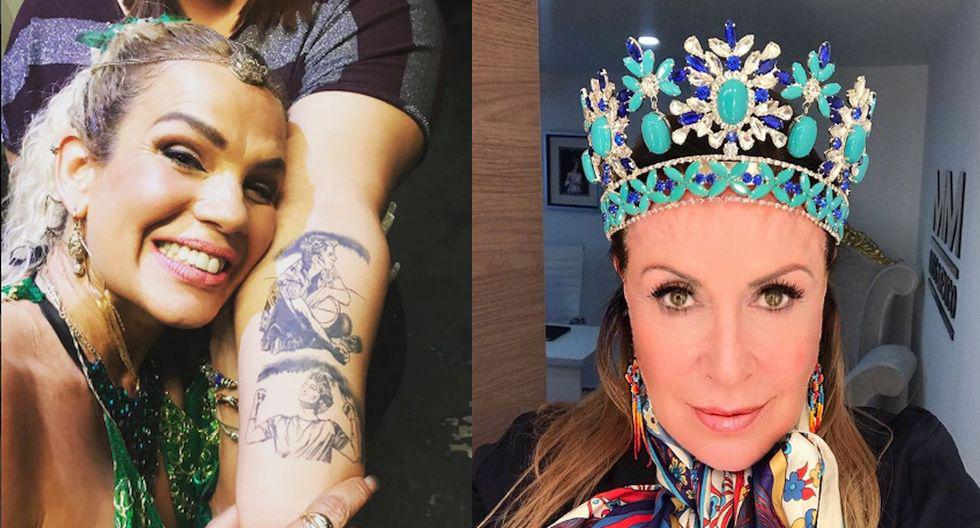 Niurka Marcos y Laura Zapata enfrentadas. (Instagram)