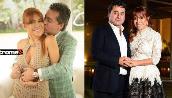 Magaly Medina y los románticos mensajes a Alfredo Zambrano por su cuarto aniversario de bodas
