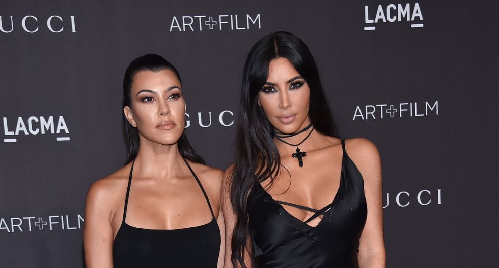 Kourtney Kardashian renuncia al reality show familiar tras pelea con Kim. (Foto: AFP)