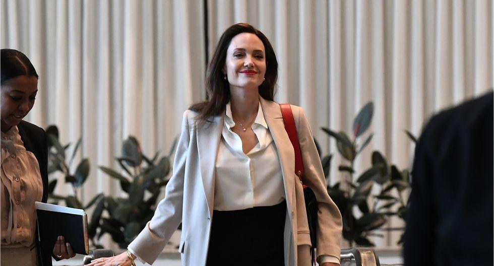 """Angelina Jolie calificó la ruptura con Brad como un """"momento complicado"""".(Foto: AFP)"""