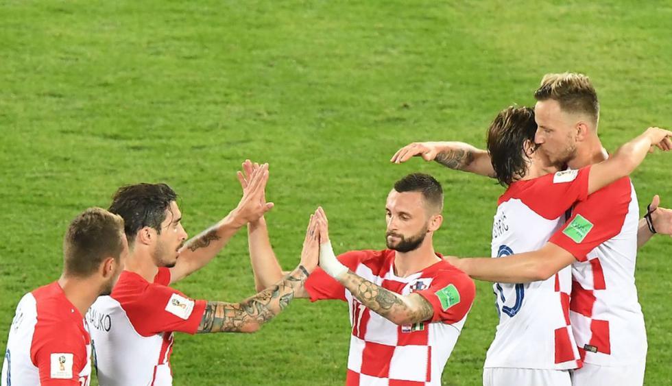 Croacia 2-0 a Nigeria por el Grupo D del Mundial Rusia 2018. (Fotos: Agencia)