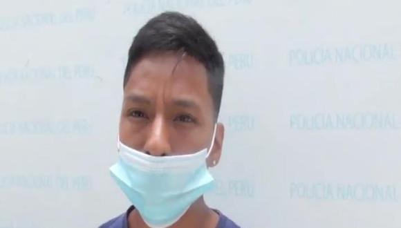 Jordán Josué Villegas Fernández (18), 'Loco Jordán',  y su cómplice, le robaron la cartera a una comerciante y a su hija,
