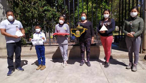 Familia pide al presidente Vizcarra que ayude a policías enfermos.