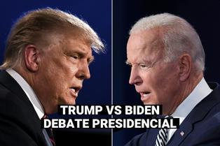 Estados Unidos: Así el fue el intercambio de insultos entre Biden  y Trump en el primer debate presidencial