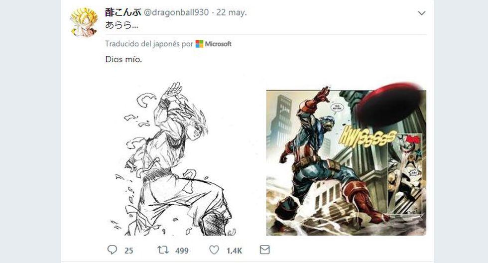 Comparan arte de 'Dragon Ball Super' con uno de Marvel y el parecido es escalofriante.