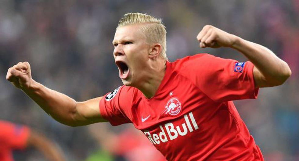 Haland abandonó Austria y viajó en su jet privado para fichar por un grande Europa tras ser eliminado de la Champions League