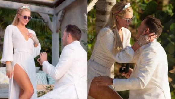 Paris Hilton y Carter Reum pasarán a la fila de los casados. (Foto: @parishilton)