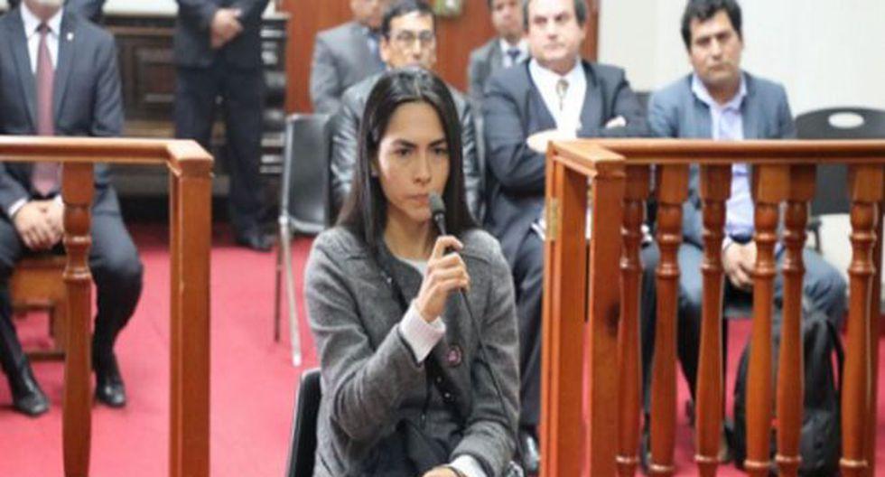 Sala revocó prisión preventiva de Melisa González Gagliuffi. (GEC)