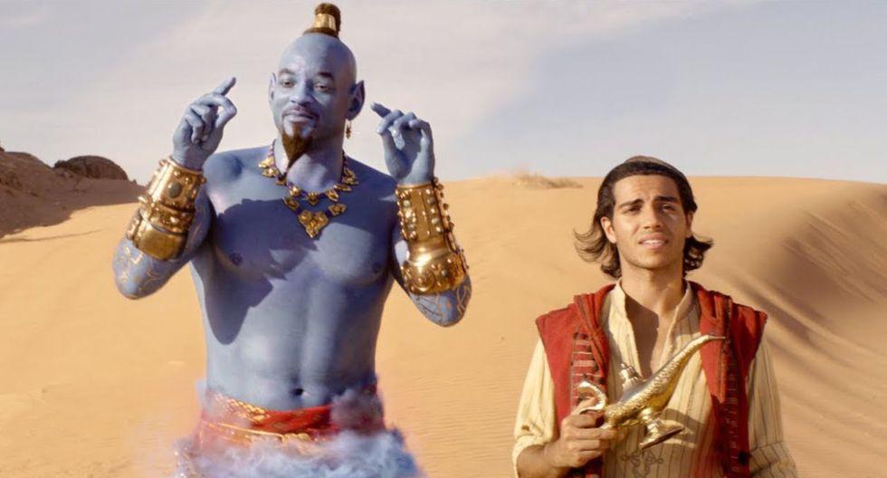 """La versión live-action de """"Aladdin"""" superó en la taquilla a la película original. (Foto: Disney)"""