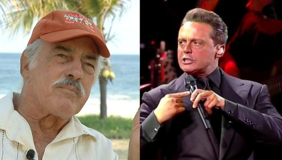 Andrés García respondió si él era el verdadero padre o no de Luis Miguel (Foto: Televisa)