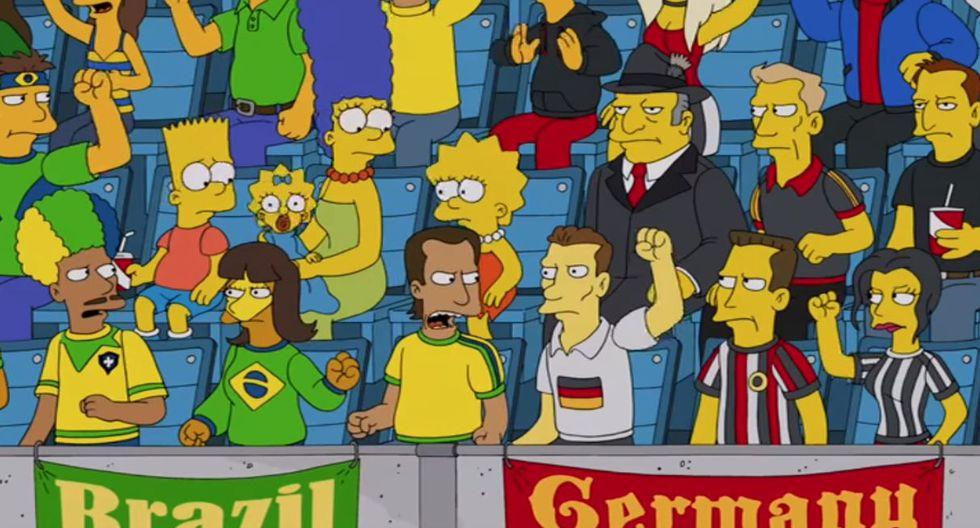 ¿Perú vs Brasil será la final del Mundial Rusia 2018 según Los Simpsons? Esta es la verdad de la foto viral