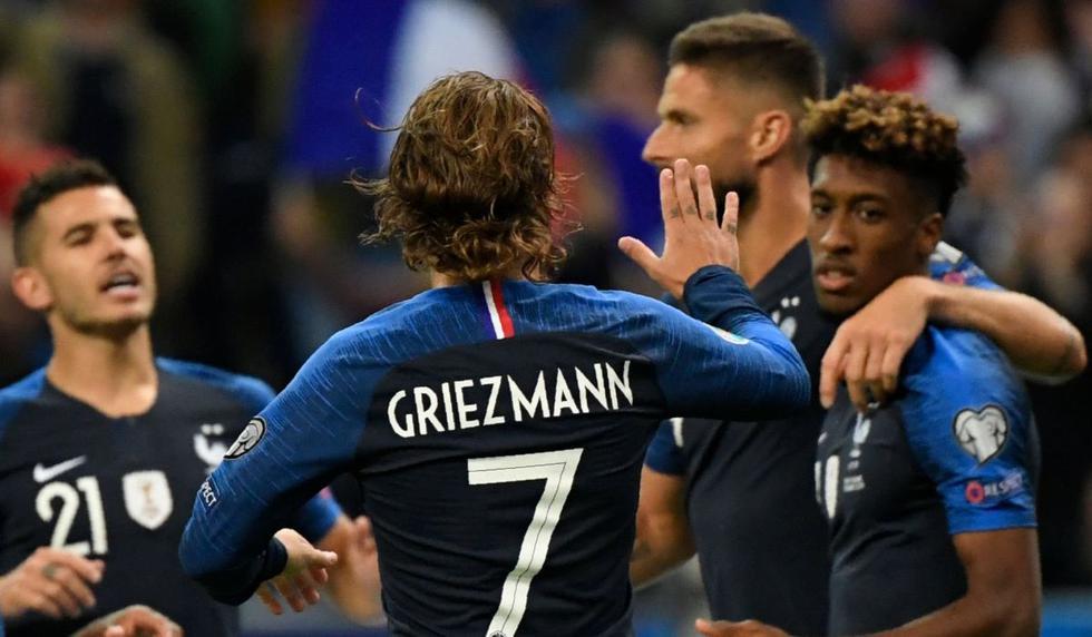 Francia vs. Albania: Partido por las Eliminatorias de la Eurocopa 2020