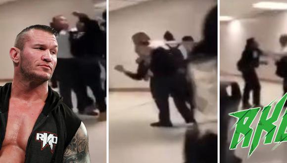 Un joven intentó hacerle un RKO al director de su escuela y terminó tras las rejas. (Foto: CBS4 Miami en YouTube)