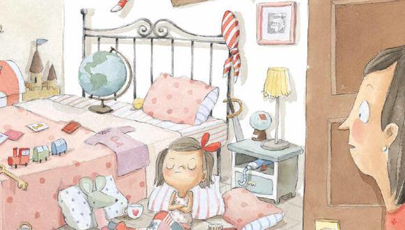 Paula se niega a limpiar su cuarto.