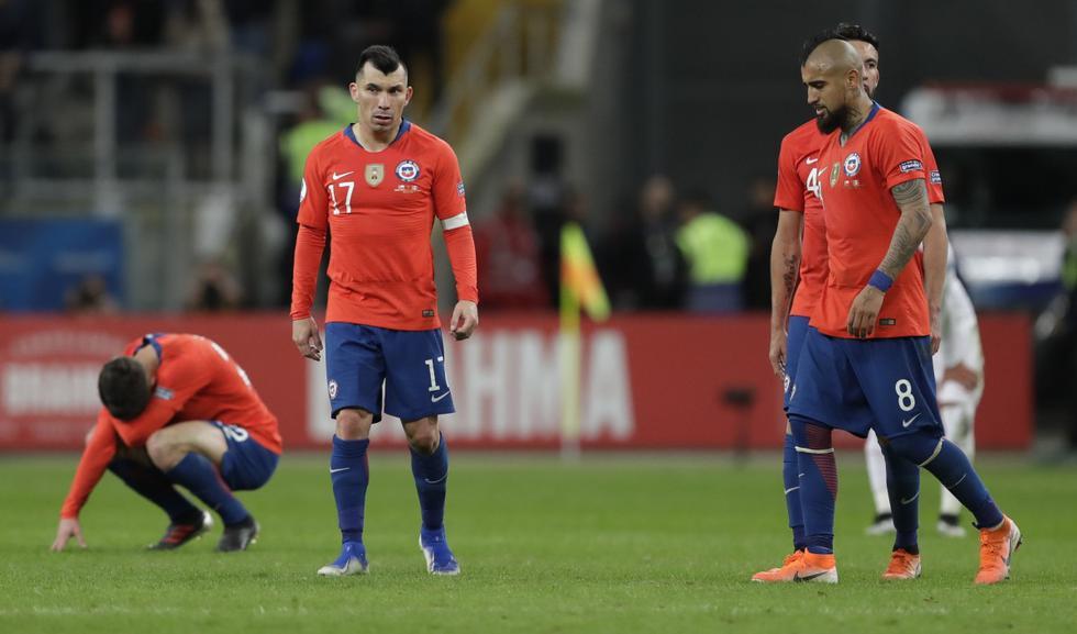 Chile perdió 3-0 con Perú y enfrentará a Argentina por el tercer lugar de la Copa América