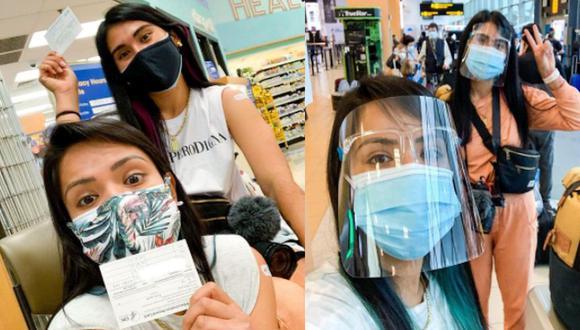 'Misias pero viajeras' se vacunaron en Estados Unidos. (Instagram)