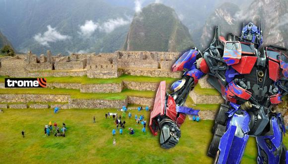 Transformers en Perú: así culminó el rodaje de la película en la ciudadela de Machu Picchu (Foto: Juan Sequeiros)