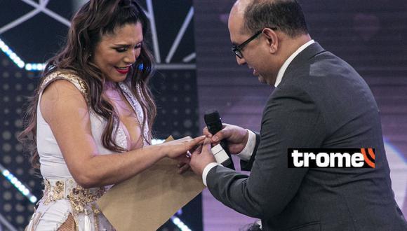 Lady Guillén: Cristiam Uribe le pidió matrimonio por segunda vez tras perder anillo de compromiso. Foto: GV Producciones