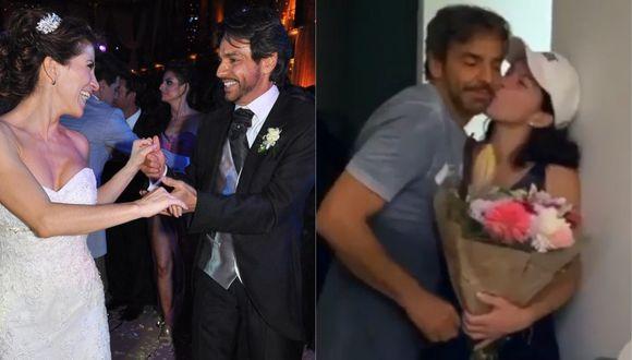 Eugenio Derbez y Alessandra Rosaldo celebraron 8 años de matrimonio. (Foto: Captura Instagram)
