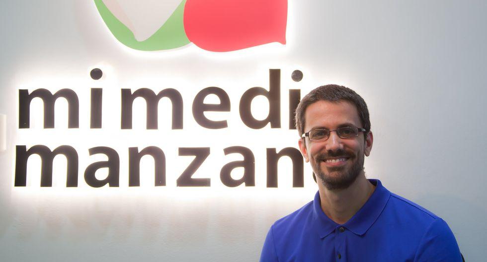 Pablo Neira, CEO de Mi media manzana