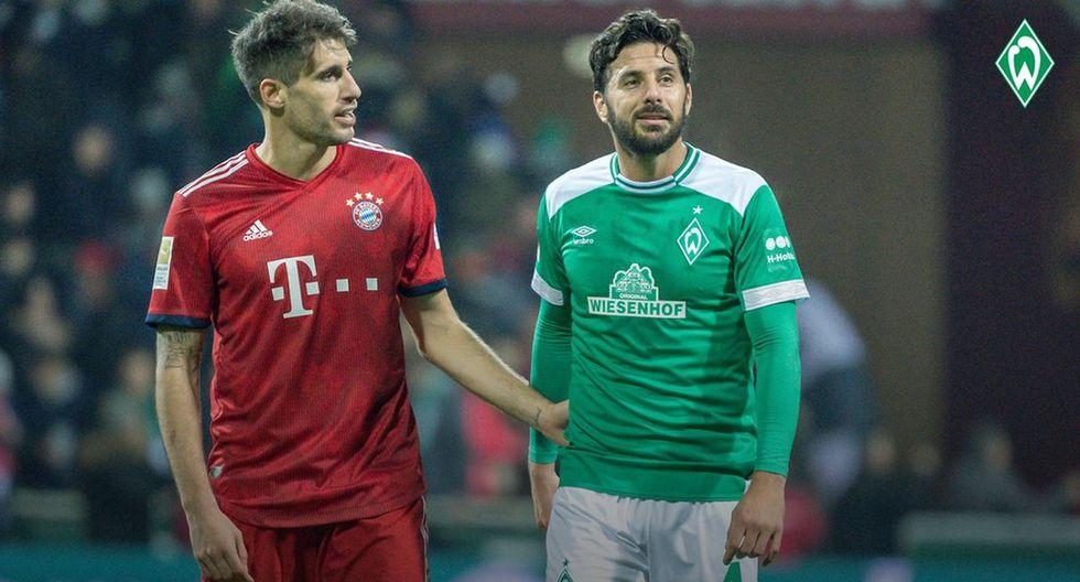 Werder Bremen perdió 2-1 ante Bayern Múnich con Claudio Pizarro por la Bundesliga