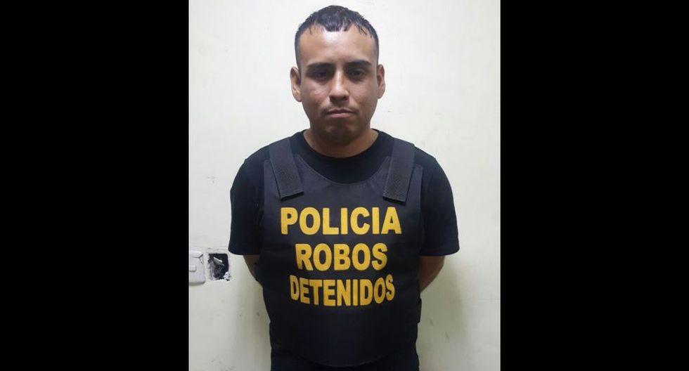 'Pelao' vaciaba casas en minutos y cayó en Barranco.