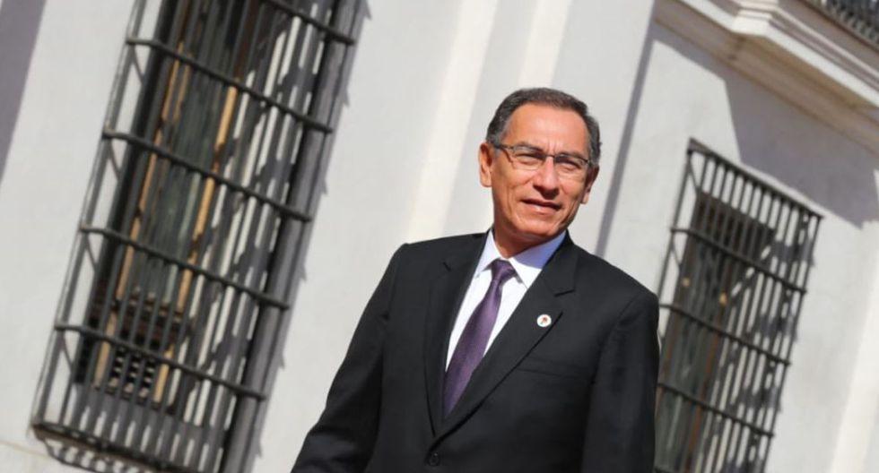 El presidente Martín Vizcarra aseguró que está concentrado en gobernar y no en pensar en proyectos políticos. (Foto: Difusión)