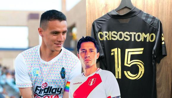 Daniel Crisóstomo sueña ser el próximo Lapadula  (Foto: Instagram)