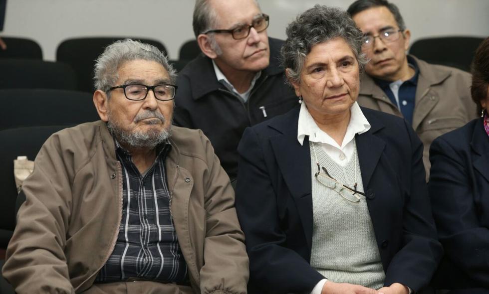 Abimael Gúzman y sus lacayos de Sendero Luminoso desangraron al país durante una década. (Poder Judicial)
