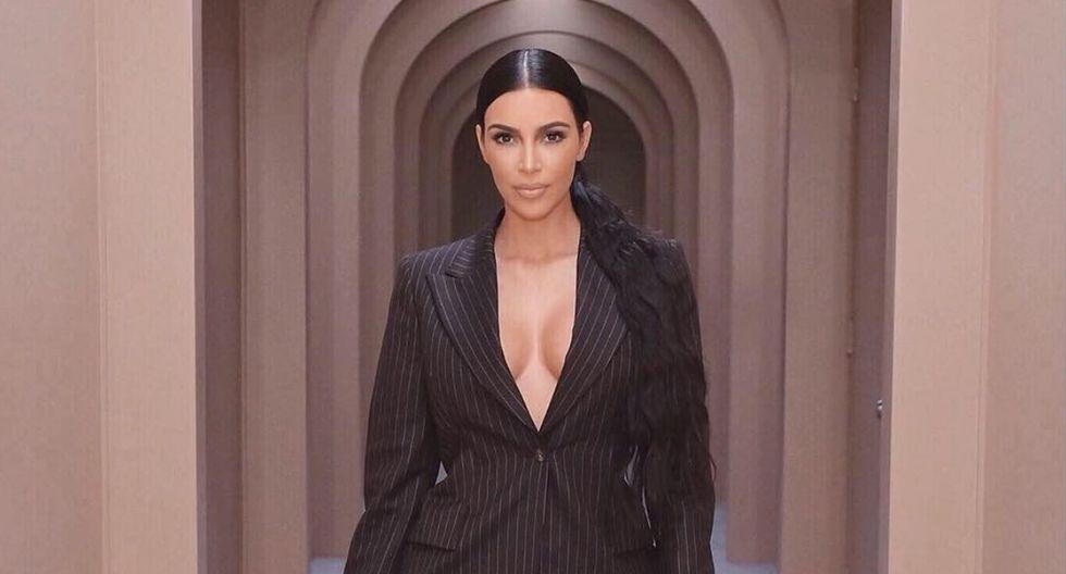 Kim Kardashian muestra cómo luce el pequeño Psalm West a un mes de su nacimiento. (Foto: @kimkardashian)