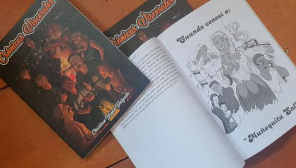 Crónicas Viscerales es el primer libro lanzado por Christian Bayro. (Foto: Facebook de Crónicas Viscerales)