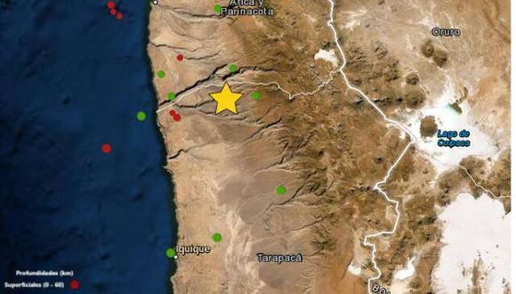 Tacna: sismo de magnitud 5.6 se registró esta mañana (Foto: IGP)