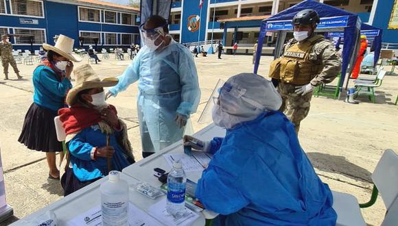 Cajamarca: Essalud realizará tamizaje COVID-19 a embarazadas, ancianos y diabéticos (Foto: Essalud)