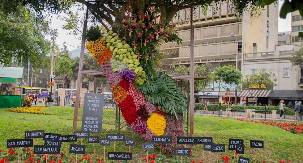 Feria Perú Flora 2021 (Isabel Medina / Trome)