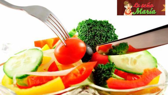 Alimentación saludable.