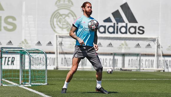 Sergio Ramos se ha perdido los últimos nueve partidos de Real Madrid. (Foto: Real Madrid)