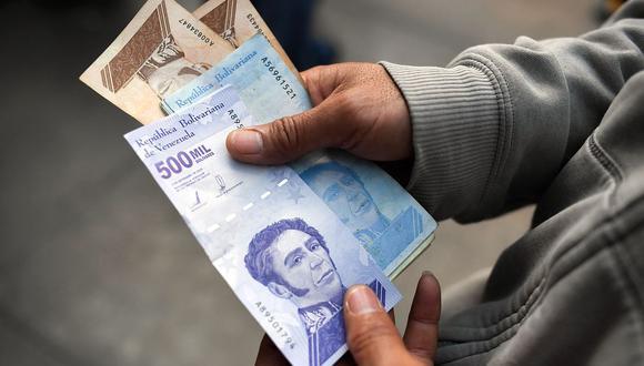 ¿A cuánto opera el tipo de cambio en Venezuela? (Foto: AFP)