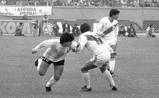 Revive la histórica marca de Reyna a Maradona durante un partido de eliminatorias