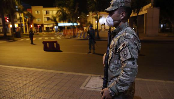 Toque de queda en Lima y Callao hoy, jueves 6 de mayo. Foto: EFE/Paolo Aguilar