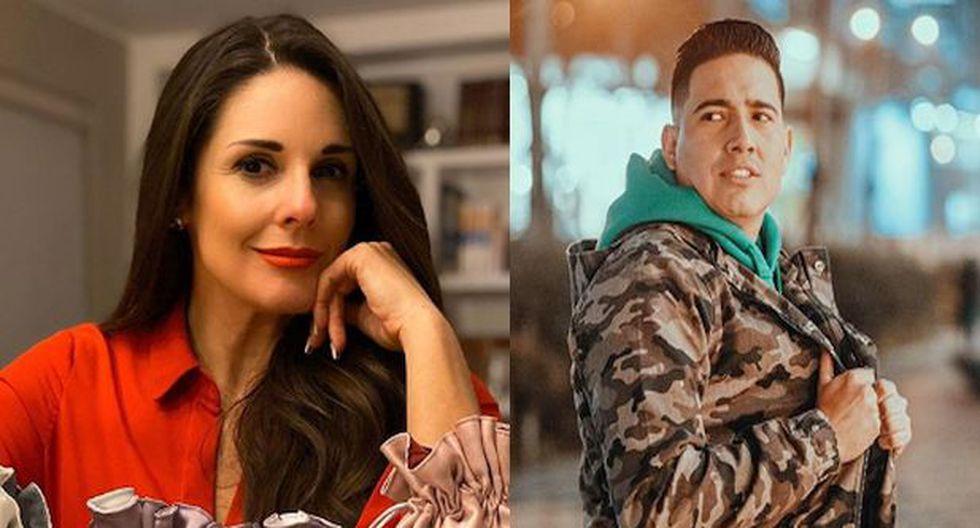 Rebeca Escribens y Pedro Loli. (Instagram)