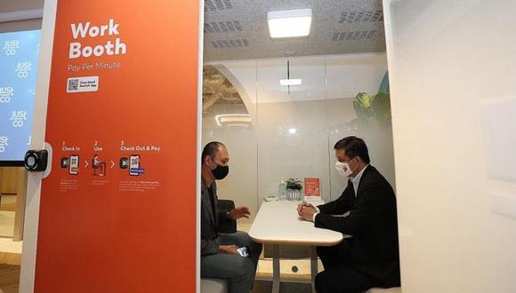 Las cabinas buscan ofrecen un espacio cómodo donde las personas puedan trabajar sin el estrés que produce el teletrabajo. (Foto: Switch)