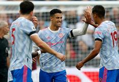 Resumen del Manchester United 2-1 West Ham: revive los goles de Cristiano y Lingard en Premier League